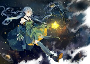 Rating: Safe Score: 43 Tags: bou_shaku dress heels thighhighs vocaloid xingchen User: Mr_GT