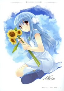 Rating: Safe Score: 33 Tags: flower kowarekake_no_orgel kuroya_shinobu User: crim