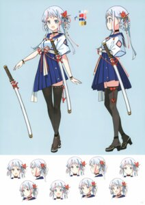 Rating: Safe Score: 26 Tags: atelier_tiv character_design sword thighhighs tiv User: kiyoe
