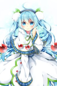 Rating: Safe Score: 41 Tags: hatsune_miku satou_saya vocaloid yuki_miku User: Mr_GT