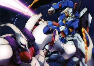 Rating: Safe Score: 8 Tags: gundam mecha qubeley sword zeta_gundam zeta_gundam_(mobile_suit) User: drop