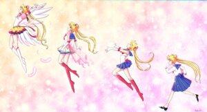 Rating: Safe Score: 6 Tags: heels sailor_moon seifuku skirt_lift tagme tsukino_usagi wings User: saemonnokami