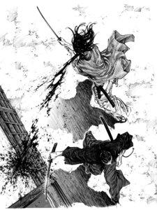 Rating: Questionable Score: 6 Tags: blood inoue_takehiko male monochrome vagabond User: Umbigo