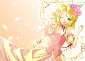 Rating: Safe Score: 15 Tags: dress kagamine_rin vocaloid yuuki_kira User: charunetra