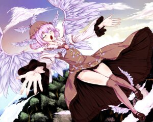 Rating: Safe Score: 7 Tags: dress homeless_mk_ii mystia_lorelei touhou wallpaper wings User: Mr_GT