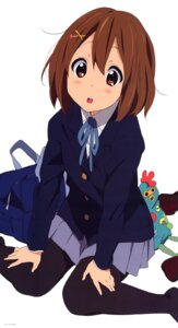 Rating: Safe Score: 29 Tags: hirasawa_yui k-on! pantyhose seifuku User: acas