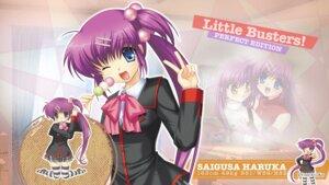 Rating: Safe Score: 7 Tags: hinoue_itaru key little_busters! saigusa_haruka seifuku thighhighs wallpaper User: girlcelly