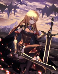 Rating: Safe Score: 43 Tags: armor cup6542 heels monster sword thighhighs User: Cold_Crime