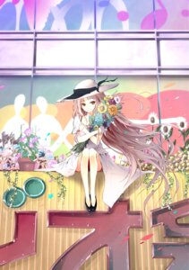 Rating: Safe Score: 32 Tags: akasaka_aka dress jpeg_artifacts summer_dress User: Erikan