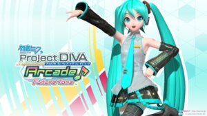 Rating: Safe Score: 21 Tags: cg hatsune_miku headphones project_diva thighhighs vocaloid wallpaper User: ayura97