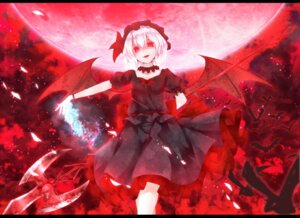 Rating: Safe Score: 25 Tags: dabadhi remilia_scarlet touhou wings User: Radioactive