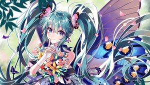 Rating: Safe Score: 23 Tags: akira_(ying) hatsune_miku tattoo vocaloid wings User: Mr_GT