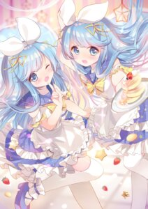 Rating: Safe Score: 37 Tags: ame_usari heels maid sound_voltex tagme thighhighs User: sym455