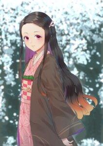 Rating: Safe Score: 18 Tags: kamado_nezuko kimetsu_no_yaiba kimono samsafe User: charunetra