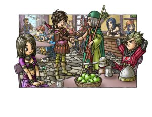 Rating: Safe Score: 2 Tags: armor cleavage dragon_quest dragon_quest_ix toriyama_akira User: Radioactive