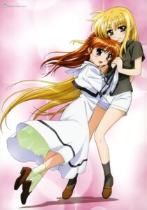 Rating: Safe Score: 23 Tags: fate_testarossa mahou_shoujo_lyrical_nanoha mahou_shoujo_lyrical_nanoha_the_movie_1st okuda_yasuhiro seifuku takamachi_nanoha User: blooregardo