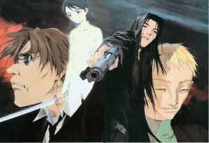Rating: Questionable Score: 1 Tags: gun kusaka_yuuya majutsushi_orphen naked sword User: Radioactive