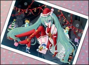 Rating: Safe Score: 10 Tags: christmas hatsune_miku kagamine_len kagamine_rin kaito kamui_gakupo meiko takoluka trinityhlm vocaloid User: trinityhlm