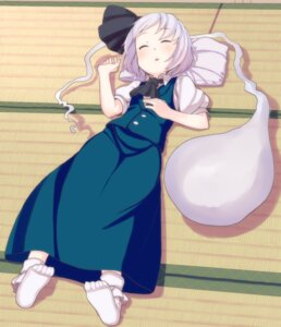 Rating: Safe Score: 10 Tags: konpaku_youmu muku-coffee myon touhou User: Silvance
