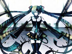 Rating: Safe Score: 9 Tags: hatsune_miku iori_(yakata-bako) vocaloid wallpaper User: charunetra