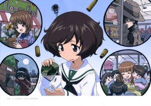 Rating: Safe Score: 11 Tags: akiyama_yukari girls_und_panzer gym_uniform isuzu_hana nishizumi_miho reizei_mako seifuku takebe_saori User: drop