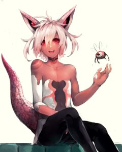 Rating: Questionable Score: 35 Tags: animal_ears shiratan tail tattoo trap User: nphuongsun93
