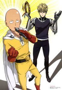 Rating: Safe Score: 18 Tags: genos male one_punch_man saitama toda_mai User: drop