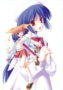 Rating: Safe Score: 7 Tags: canvas_2 hagino_kana misaki_sumire nanao_naru User: crim