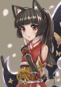 Rating: Safe Score: 23 Tags: animal_ears elin hyouta_(nekogamirin_c) nekomimi tail tera_online weapon User: Mr_GT