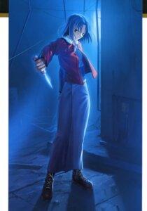 Rating: Safe Score: 12 Tags: kara_no_kyoukai kimono ryougi_shiki takeuchi_takashi type-moon weapon User: fireattack