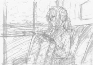Rating: Safe Score: 5 Tags: monochrome sketch violet_evergarden violet_evergarden_(character) User: tuyenoaminhnhan