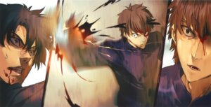 Rating: Questionable Score: 10 Tags: blood emiya_kiritsugu fate/stay_night fate/zero kotomine_kirei male seifuku tagme User: NotRadioactiveHonest