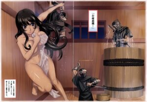Rating: Questionable Score: 24 Tags: breast_hold crease eiwa naked queen's_blade tomoe towel User: Radioactive