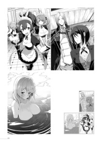 Rating: Questionable Score: 6 Tags: cleavage digital_version kasuga_ayumu_(artist) maid monochrome naked sketch thighhighs wet User: fireattack