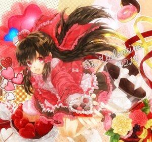 Rating: Safe Score: 14 Tags: hakurei_reimu kujaku_renka touhou valentine User: hobbito