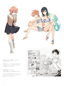 Rating: Safe Score: 5 Tags: bikini nakatani_nio seifuku skirt_lift swimsuits User: kiyoe