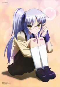 Rating: Safe Score: 71 Tags: angel_beats! megane seifuku tenshi toya_kento User: Aurelia