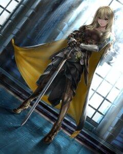 Rating: Safe Score: 84 Tags: armor heels sisshou_senkoku sword User: Mr_GT