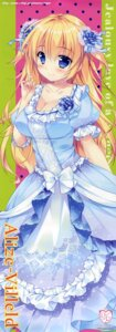 Rating: Safe Score: 26 Tags: alize_villeld cleavage dress hime_to_otome_no_yakimochi_love mikeou princess_sugar User: DDD