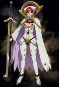 Rating: Safe Score: 22 Tags: claudette cleavage hisayuki_hirokazu queen's_blade queen's_blade_rebellion User: YamatoBomber