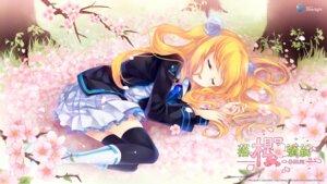 Rating: Safe Score: 46 Tags: aizawa_hikaru microsoft sakura shinia thighhighs wallpaper User: wabo