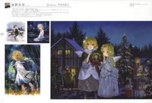 Rating: Safe Score: 7 Tags: christmas fixme takano_otohiko wings User: suika123