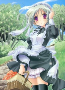 Rating: Safe Score: 33 Tags: bloomers horii_kumi maid thighhighs User: crim