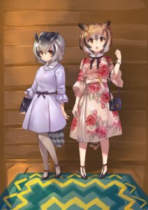 Rating: Safe Score: 10 Tags: dress eurasian_eagle_owl heels kemono_friends northern_white-faced_owl tadano_magu tail User: Mr_GT