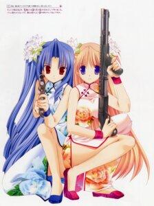 Rating: Safe Score: 31 Tags: chinadress goshuushou-sama_ninomiya-kun gun houjou_reika takanae_kyourin tsukimura_mayu User: admin2