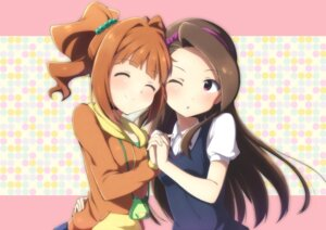 Rating: Safe Score: 32 Tags: minase_iori rariemonn takatsuki_yayoi the_idolm@ster User: animeprincess