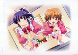 Rating: Safe Score: 8 Tags: doki_doki_sister_paradise izumi_mahiru waitress User: MirrorMagpie