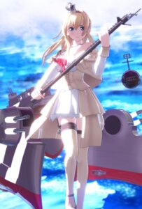 Rating: Safe Score: 30 Tags: dress kantai_collection meihaiwh stockings thighhighs warspite_(kancolle) User: Genex