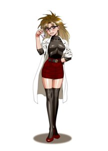 Rating: Safe Score: 7 Tags: megane minazuki_juuzou thighhighs User: Radioactive