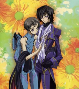 Rating: Safe Score: 5 Tags: code_geass lelouch_lamperouge male rollo_lamperouge r_shoutai sakou_yukie User: Aurelia